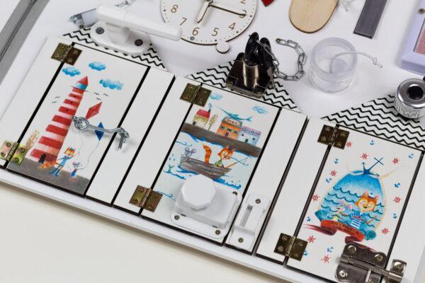 tablica manipulacyjna morska mini